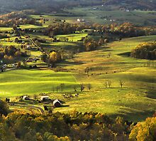 Shenandoah Valley Landscape by Stephen Vecchiotti