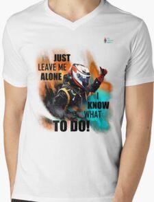 KR Classic Team Radio Mens V-Neck T-Shirt