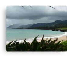 Oahu showers Canvas Print