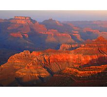 Grand Canyon At Sunset Photographic Print