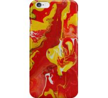 Red Lava iPhone Case/Skin