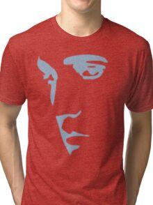 King of Rock n Roll silhouette  Tri-blend T-Shirt