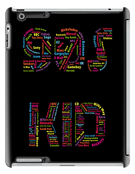90s Kid_iPad by Daniel Bevis