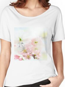 The Silent World of a Butterfly Women's Relaxed Fit T-Shirt