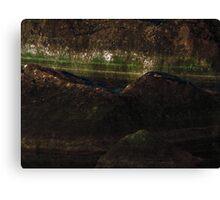 Stone Painting X Canvas Print