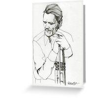 Chet Baker  Greeting Card