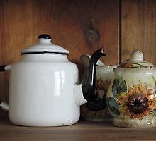 Baba's Teapot by Jim Sauchyn