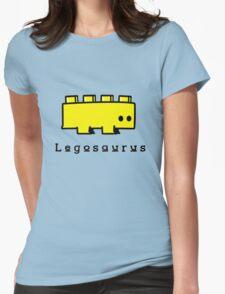 Legosaurus funny nerd geek geeky Womens Fitted T-Shirt