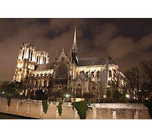 Notre-Dame de Paris Photographic Print