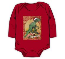 Merry Jurassic Christmas 4 One Piece - Long Sleeve