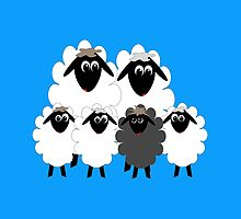 Black Sheep in the Family! by M Fernandez