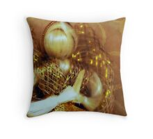 Corn Husk Angel Throw Pillow