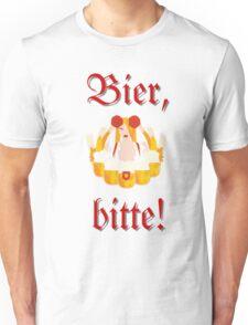 Bier, bitte! Unisex T-Shirt