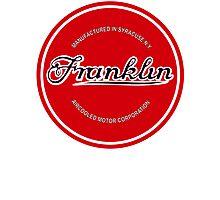 Franklin Engine Company Logo Photographic Print