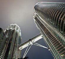 Petronas Twin Towers by RickyMoorePhoto