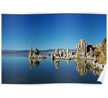 Tufa formations, Mono Lake, California Poster