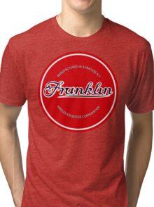 Franklin Engine Company Logo Tri-blend T-Shirt