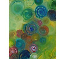 Green Candy Photographic Print