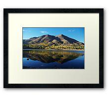 Red Lake, California Framed Print