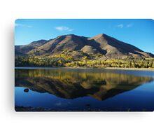 Red Lake, California Canvas Print