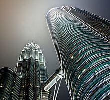 Petronas Towers by RickyMoorePhoto