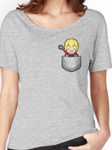 Pocket Shulk Women's Relaxed Fit T-Shirt