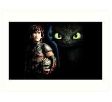 HOW TO TRAIN YOUR DRAGON - 03 Art Print