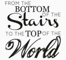 One Direction - The boys from the stairs by echosingerxx