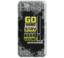 Go Hard Young Dreamer  iPhone Case/Skin