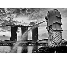 Merlion Photographic Print