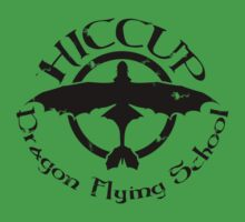 Hiccup's Dragon Flying School One Piece - Short Sleeve