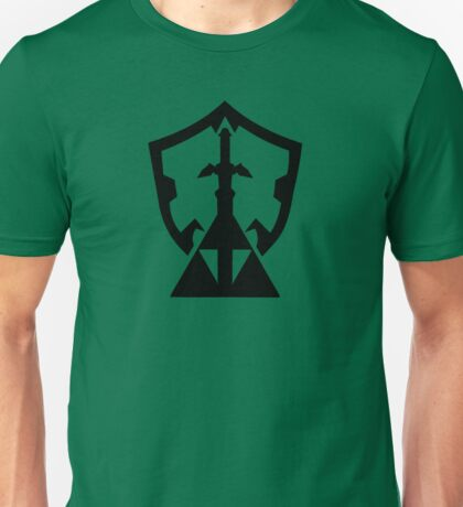Legend of Zelda Inspired Silhouette Unisex T-Shirt