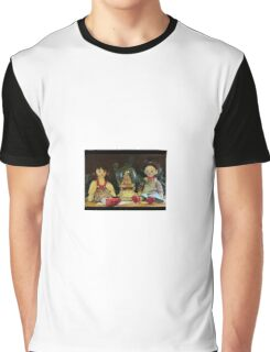Sweet Dolls at Christmas Graphic T-Shirt