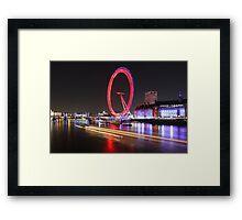 Thames River, London, England, UK * Framed Print
