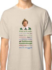 First, we'll make snow angels Classic T-Shirt