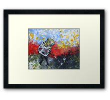 Golf Jar Framed Print