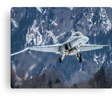 Swiss Air Force F-5E Tiger Canvas Print