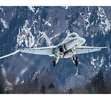 Swiss Air Force F-5E Tiger Photographic Print