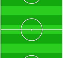 Football Soccer Pitch Sticker