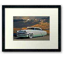 1954 Mercury Retro Custom Framed Print