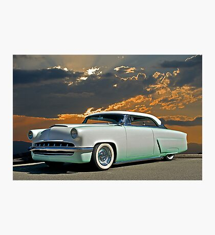 1954 Mercury Retro Custom Photographic Print