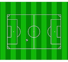 Football Soccer Pitch Photographic Print