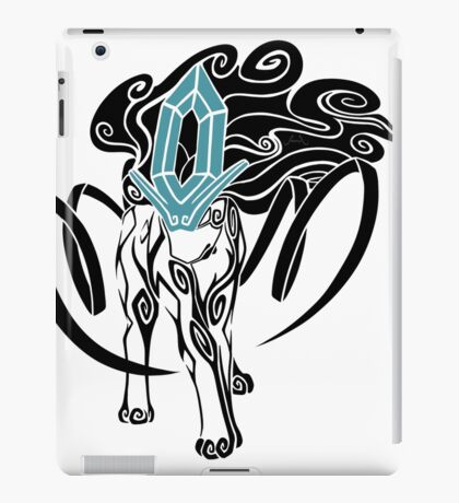 Tribal Suicune - Black iPad Case/Skin