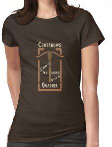 Quarrels Kill Tee Womens Fitted T-Shirt