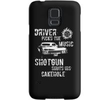 Driver Picks the Music Samsung Galaxy Case/Skin