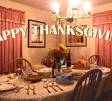 Happy Thanksgiving Greeting Card by Gene Walls