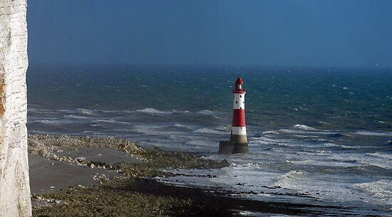 Beachy Head Lighthouse by mikebov