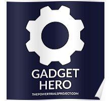 """Gadget"" Hero Logo - Dark Background Poster"