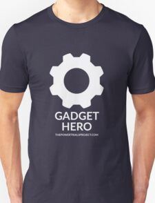 """Gadget"" Hero Logo - Dark Background T-Shirt"