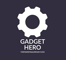 """""""Gadget"""" Hero Logo - Dark Background Unisex T-Shirt"""
